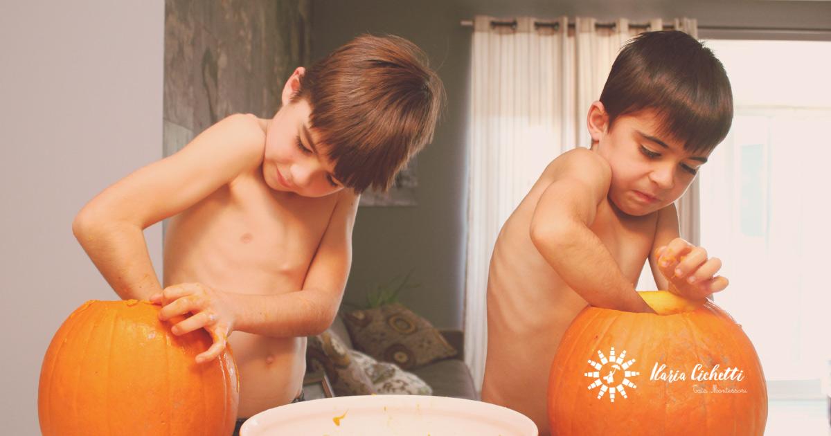 5 attività Montessori per Halloween