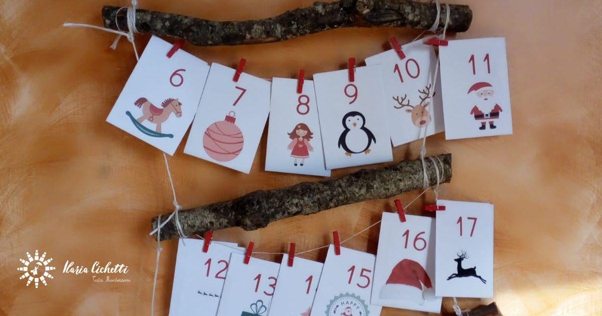 7 attività Montessori per Natale